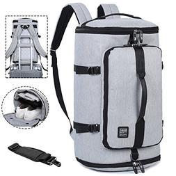 Travel Business Laptop Backpack 3-Way Water Resistant Duffel