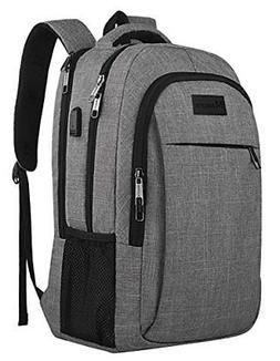 Business Travel Backpack,Mancro Slim Laptop Backpack for Wom