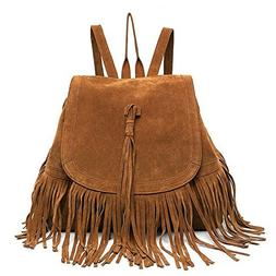 Cai- Valentine's Day Gift Women's Fringed BackpackTassel Sho