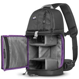 Camera Sling Backpack Bag for Canon Nikon Sony DSLR & Mirror