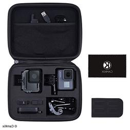 CamKix Case for GoPro Hero 6 / 5 Black - Perfect for Travel