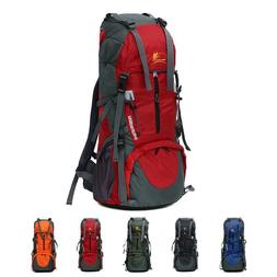Camping Backpack 70L Mountaineering Styles Hiking Bike Equip