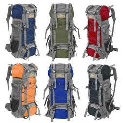 Camping Travel Rucksack Waterproof Mountaineering Outdoor Ba