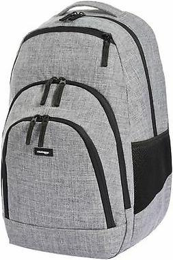 AmazonBasics Campus Laptop Backpack - Grey
