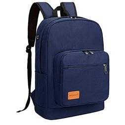 LuckyZ Unisex Canvas Backpack Casual Lightweight Bookbag Sch