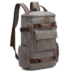 Yousu Canvas Backpack Fashion Travel School Rucksack Casual