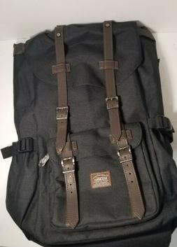 KAUKKO Canvas Men/Womens Laptop Notebook Backpack Business S