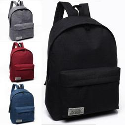 Canvas Portable Large BackPack Student Big School Bag For Te