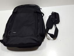 Amazonbasics Carry-On Travel Backpack, Black, B01J24H2K0, WD