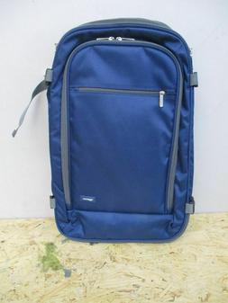 Amazonbasics Carry On Travel Backpack, Navy
