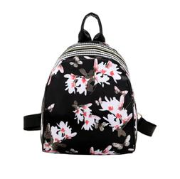 Casual Floral Printed Small mini  Backpacks for Travel Daypa
