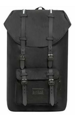 Bagail Casual Large Vintage Canvas Travel Backpacks Laptop C
