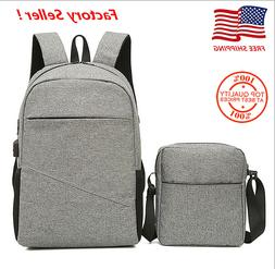 casual travel laptop backpack multi function water