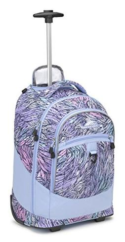 High Sierra Chaser Wheeled Laptop Backpack, Feather Spectre/