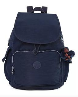 Kipling City Pack Backpack Color True Blue Retail $119.00 NW