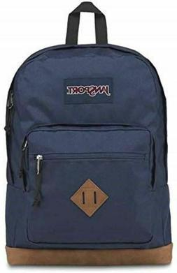 JanSport City View Laptop Backpack - Navy, NEW w/Tags, 100%