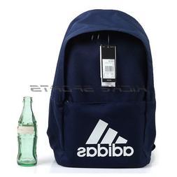 Adidas Classic Backpack & BookBag Navy/White Lifestyle Casua