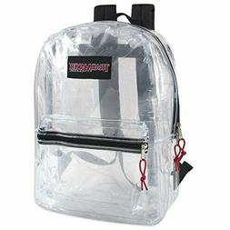 Clear Backpack With Reinforced Straps For School Security Sp