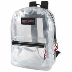 Trail maker Clear Backpack With Reinforced Straps For School