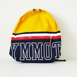 Tommy Hilfiger Color Block Canvas Backpack Multi-purpose