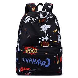 Cool School Backpack, Betiteto Water-resistant Teens Boys Sc