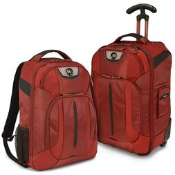 Cross Point Carry-on Ballistic Nylon Wheeled Upright Laptop