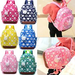 Cute Kid Toddler Backpack Kindergarten Schoolbag 3D Cartoon