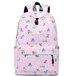 Cute Kids Bookbag Elementary Primary School Backpack Teen Gi