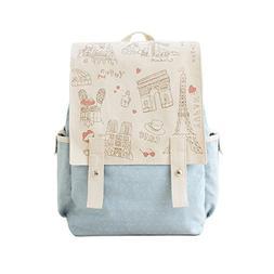 Fashion Cute Women's Bag Canvas Satchel Girls' Lovely Sweet