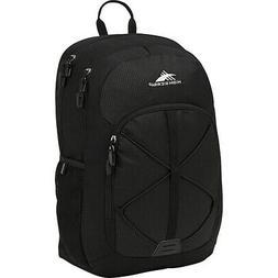 High Sierra Daio Backpack - Black Everyday Backpack NEW
