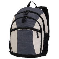 Everest Children's Deluxe Backpack One Size Dark Grey