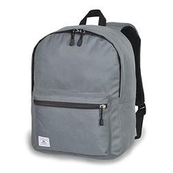 Everest Deluxe Laptop Backpack, Dark Gray, One Size