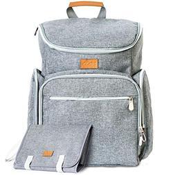 Baby Republic Diaper Bag Backpack - Baby Bag for Mom Girls B