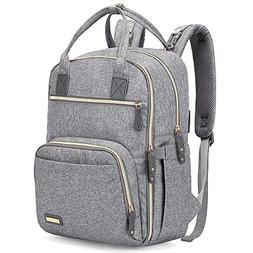 Diaper Bag Backpack, iniuniu Large Unisex Baby Bags Multifun