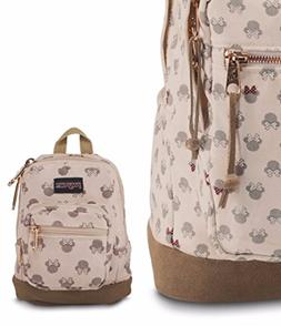 JanSport Disney Backpack Right Pouch One Size Luxe Minnie NE