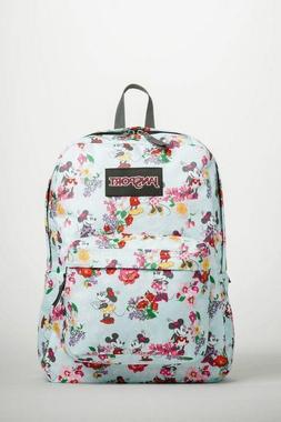 Disney Backpack JanSport Superbreak Blooming Minnie Mickey F