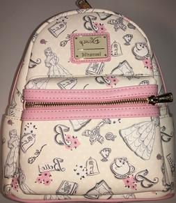 Loungefly Disney Belle Beauty and the Beast Mini Backpack
