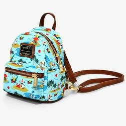 Loungefly Disney Frozen Olaf Summer Micro Mini Backpack Excl