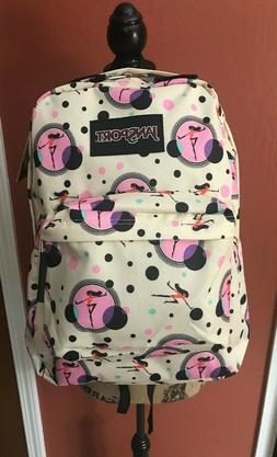 JanSport Disney Incredibles2 Superbreak Violet Dot Backpack-
