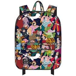 Disney Peter Pan Captain Hook Wendy Character School Backpac