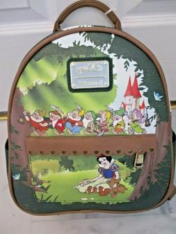 Loungefly Disney Snow White and Seven Dwarfs Mini Backpack N