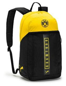 PUMA Dortmund FAN Backpack Bags Sports Black Unisex Casual S