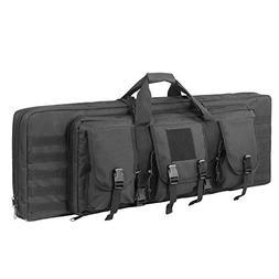 ARMYCAMOUSA 42 Inch Double Rifle Bag Outdoor Tactical Carbin