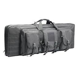 ARMYCAMOUSA 38 Inch Double Rifle Bag Outdoor Tactical Carbin