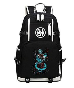 Siawasey Dragon Ball Z Anime Goku Cosplay Backpack Shoulder