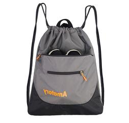 Drawstring Backpack Sports Athletic Gym String Bag Cinch Sac