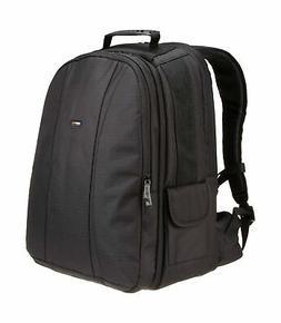 AmazonBasics DSLR Camera and Laptop Backpack Bag - 13 x 9 x