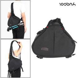 DSLR SLR Digital Camera Case Sling Shoulder Bag Backpack for