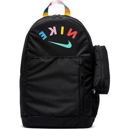 Nike Elemental Backpack GFX Casual Bag Sports School Black O