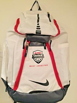 Nike Elite Backpacks  USA Basketball Replica White And Navy